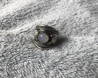 Moonstone Boho Adjustable Ring