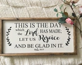 Rejoice Sign