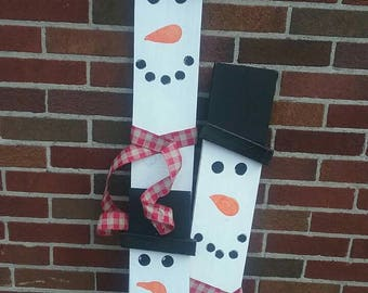 Snowmen Porch Decoration