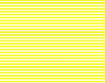 Thin Horizontal or Thin Vertical Yellow Lined Cardstock Paper