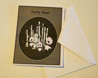 Party Time ! birthday card