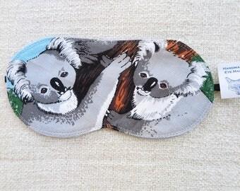 Eye mask, Sleeping mask, Travelling mask, Flight mask, Koala eye mask, Koala, Australian souvenir eye mask,Koala sleeping mask,Cute eye mask
