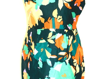SALE- Autumn Green Shift Dress