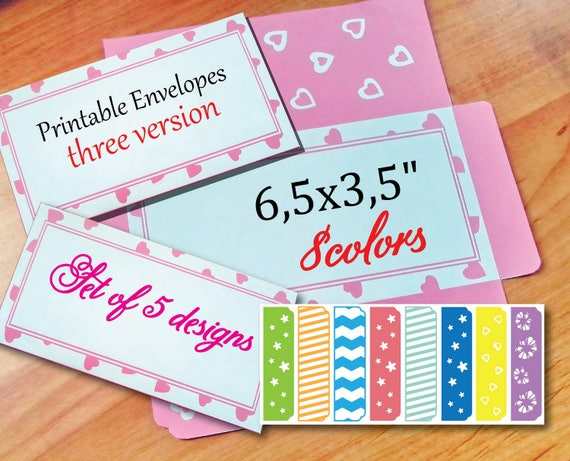 Printable Envelopes Printable Envelope Template Money Envelope