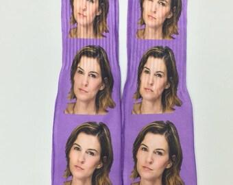 Selfie Socks Custom Socks