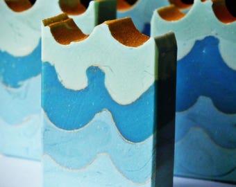 Silken Sea~ handcrafted Sea Kelp and  Goat Milk soap