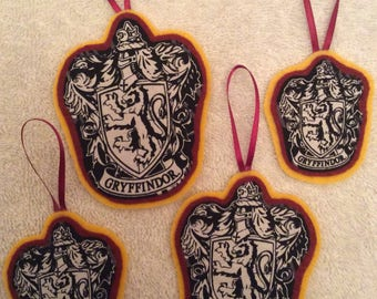 Harry Potter Gryffindor Ornaments-Set of 4