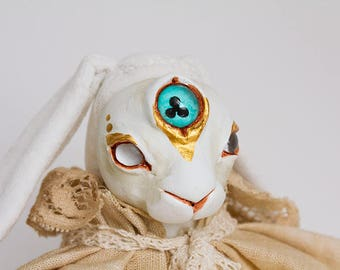 "OOAK Artdoll ""Aura the Summer Solstice Witch"""
