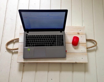 Wooden tray for 2 purposes