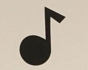 Musical Note Die-Cut