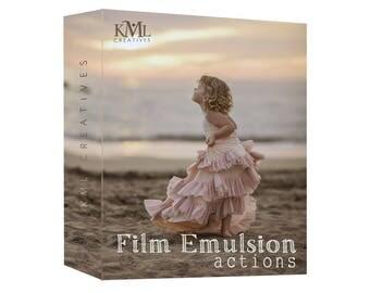 Film Emulsion Photoshop Actions