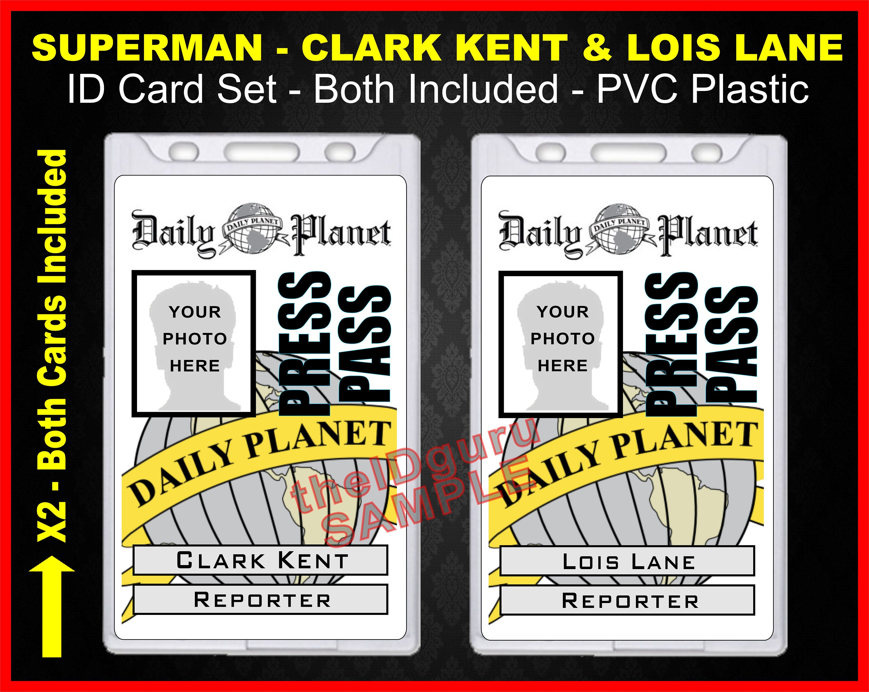 Geeky image regarding lois lane press pass printable