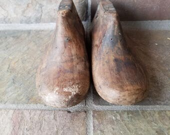 1930's 1940's Wooden Child Shoe Form Cobbler Shoemaker Tool