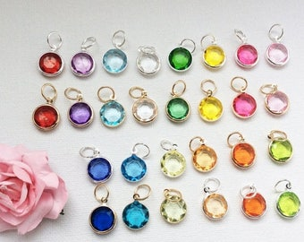 VACATION SALE Add-on Birthstone charm, to add onto existing orders only!
