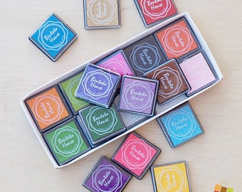 20 Colors Ink Pad for Stamping
