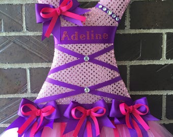 Upgrade on tutu bow holder