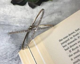 Crystals Cuff Bracelet