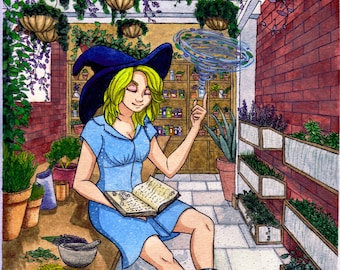 Greenhouse Witch