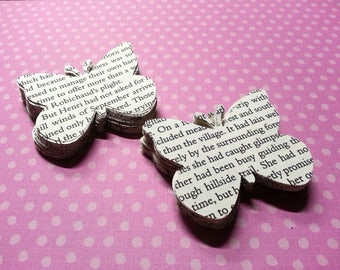 """100 Paper Butterflies, 2"""" Butterfly confetti, Butterfly punches, Confetti, Paper Embellishment"""