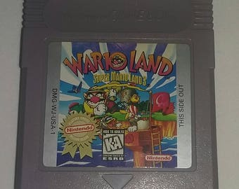 Wario Land Super Mario Land 3 Nintendo Game Boy Video Game