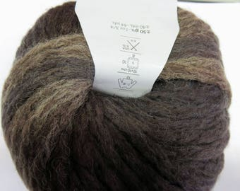 Wool Katia Odisea Brown