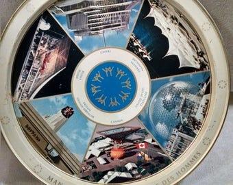 Expo 67 Montreal Canada Souvenir Tray