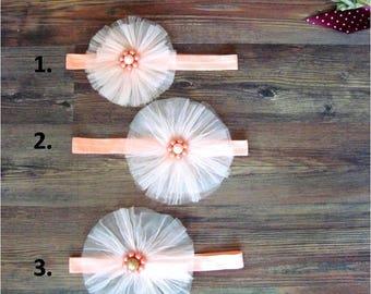 Flower Girl Headband, Headband, Photo Prop, Headbands for Girls, Child Wedding Hair Accessories, Baby Hair Accessories, Toddler Accessory