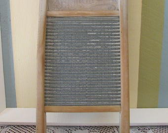 Washboard Company 795 Junior VINTAGE National Washboard, VTG washboard for Mid Century Collectible Vintage Toy child