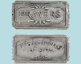 Prayers, Thinking of You Ticket, Pocket Token