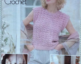 Patons Cotton on to crochet pattern booklet