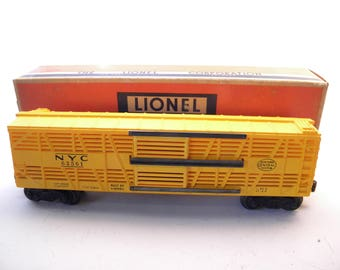 Lionel 6356 New York Central Double Decker Stock Car    1955-1957  O Gauge