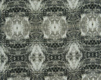 """Black And White Fabric, Home Decor, Apparel Fabric, Ethnic Craft Fabric, 55"""" Inch Cotton Fabric By The Yard ZBC9149B"""