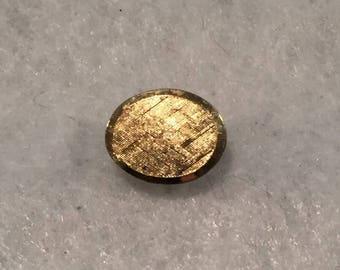 summer17 Lamode Karatclad Gold-plated Tie Tack / Lapel Pin - CA 1970's