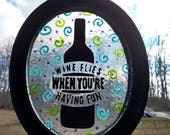 WINE FLIES~stained glass ...