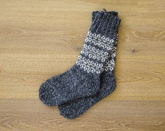 100% Natural Wool Socks (EU 41/US 8)