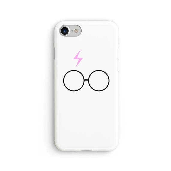 Harry P inspired scar and glasses iPhone X case - iPhone 8 case - Samsung Galaxy S8 case - iPhone 7 case - Tough case 1P038