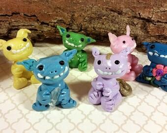 Baby Creature, Clay Monster, Monster Baby, Alien Ornament, Alien Baby, Monster Figurine, Cute Monster, Alien Monster, Clay Figurine,