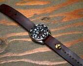 Redux Leather Stud Watch Strap