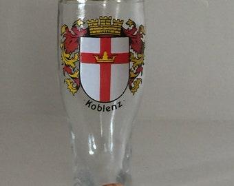 """Vintage German Boot """"Koblenz"""" Shot Glass"""