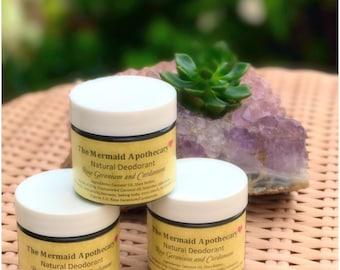 Balancing Deodorant -Rose Geranium and Cardamom