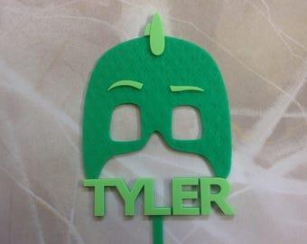 Gekko PJ Masks Cake Topper