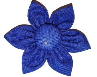 Dog Collar Flower // Dog Collar Accessory // Dog Collar Accessories // Blue Flower