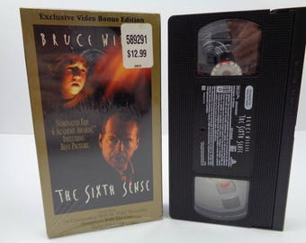 The Sixth Sense VHS Tape Bruce Willis Is Dead The Entire Time