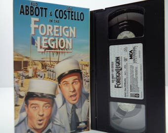 In The Foreign legion VHS Tape