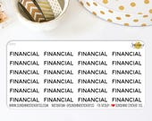 Divider Tab Stickers | Financial 298S