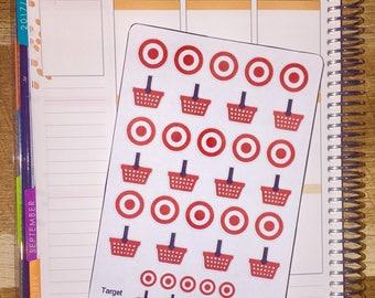 Target Planner Stickers (w/ Mini's!)