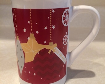 Royal Norfolk Deck The Halls Christmas Mug