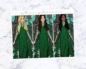 PRE-SALE! Slytherin Fashion Girls (Glam Planner Stickers for Erin Condren Life Planner)