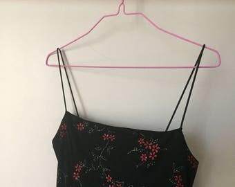 90s Glittery Maxi Dress