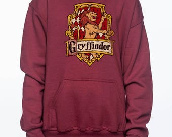Gryffin Crest #2 printed on YOUTH / KIDS Hoodie